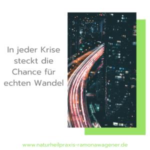 Wandel - Krise als Chance